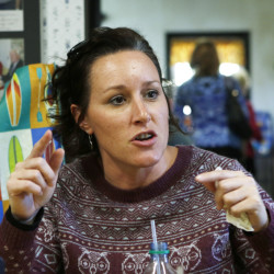 Tracey Levesque of Auburn believes most voters who supported Steve Morgan on Election Day will throw their support to Mayor Robert Macdonald in the runoff.