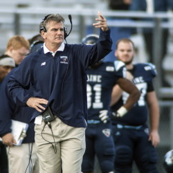 Maine Coach Jack Cosgrove is in the final year of a three-year contract. Athletic Director Karlton Creech said he wants to re-sign Cosgrove to a multiyear extension.