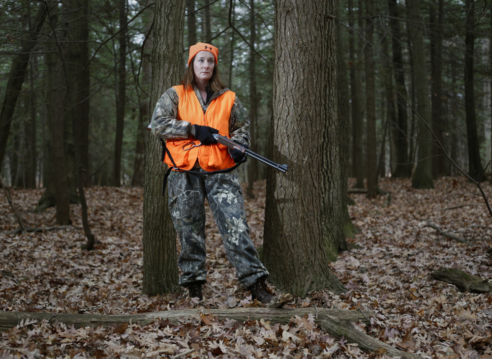 Deirdre Fleming, a first-time hunter, wanted to take a deer quickly, with little suffering. She succeeded on a blueberry farm north of Augusta with the help of a seasoned guide.