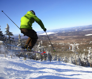 Skiers are eager to get back on the slopes at Saddleback, including the 44-acre Casablanca glade, the largest section of top-to-bottom expert terrain east of the Mississippi.