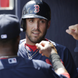 Travis Shaw's play was mediocre in Pawtucket, but he broke out in Boston and sits at No. 3 in our list.