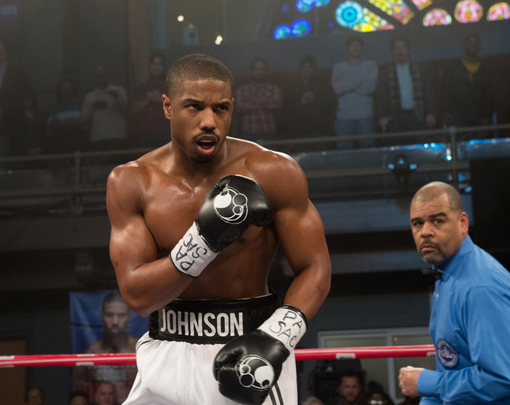 """Michael B. Jordan portrays the title character in the new film """"Creed."""""""