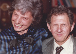 Judith and Irving Isaacson, who would have celebrated their 70th wedding anniversary on Dec. 24.