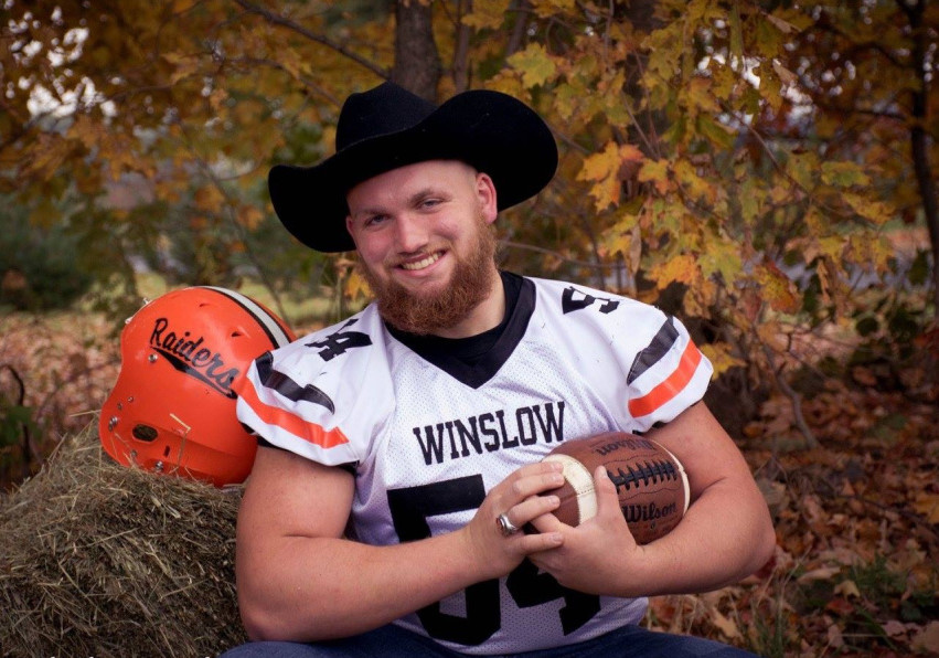 Winslow senior Alec Clark is the Morning Sentinel Football Player of the Year.