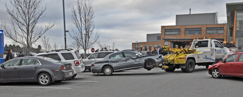 Driver crashes into seven parked cars at MaineGeneral Medical Center ...