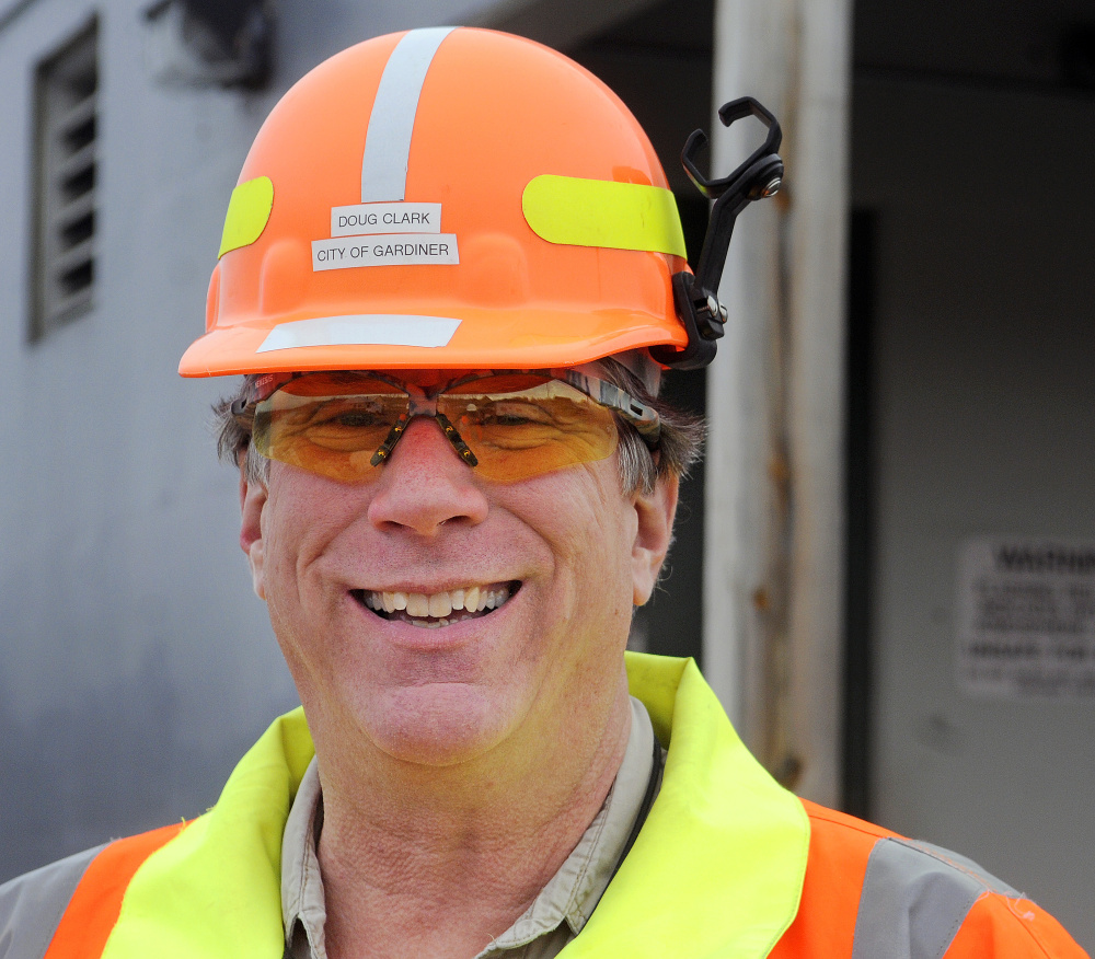 Doug Clark, director of wastewater for the city of Gardiner, is leading the effort for the city's $3.8 million sewer rehabilitation and system upgrade.