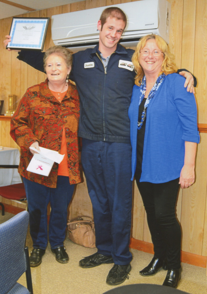 From left, are Sandy Choate, Justin Hewitt and Rose Webster.