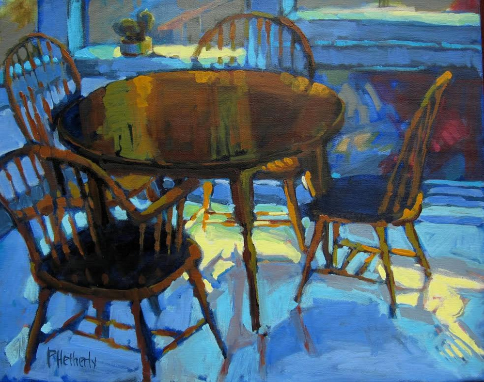 """""""Blue Dining"""" by Pam Hetherly"""