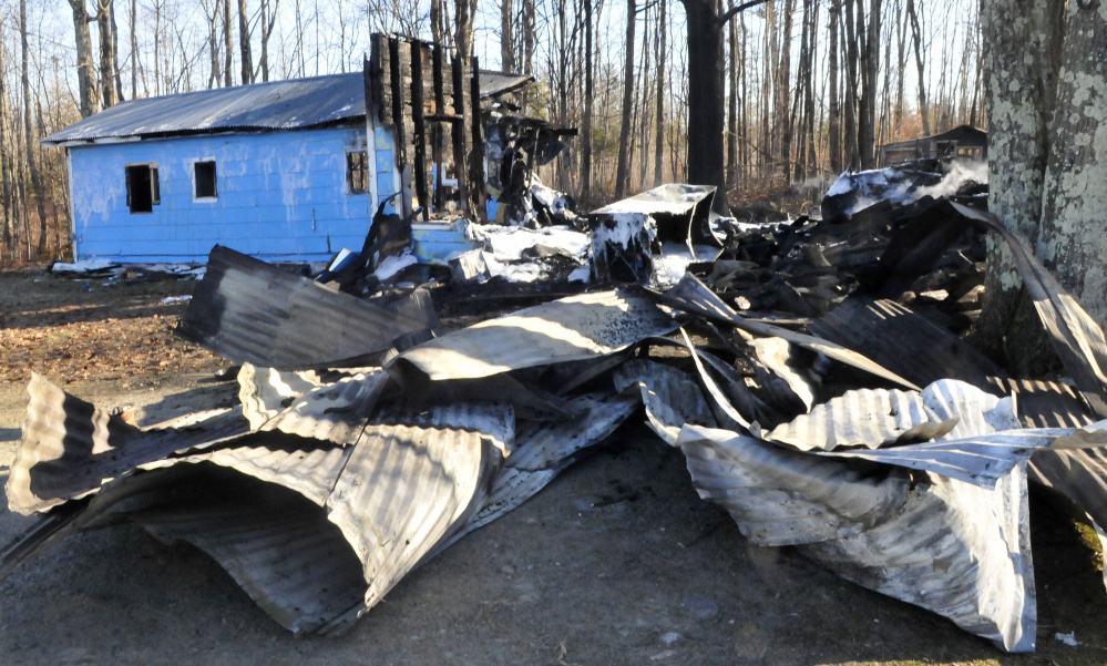 A fire destroyed the home of Rick Kennedy on Troy Road in Detroit early Sunday.