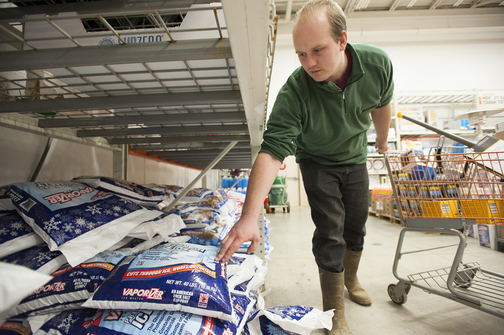 Central Maine Prepares For Storm Kennebec Journal And