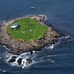 Ram Island is located 2 miles off Saco.