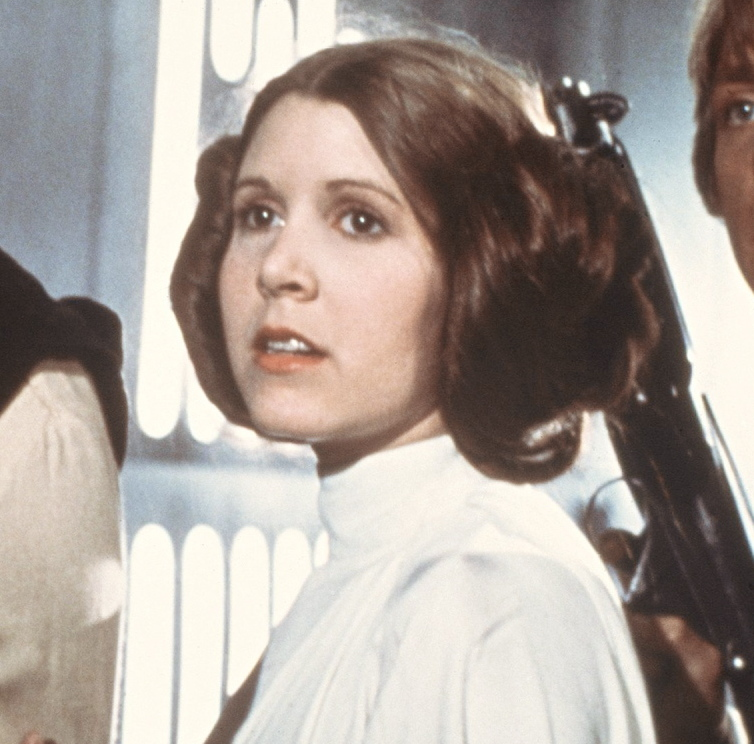 A USC study backs up Carrie Fisher's claim that older women rarely get leading roles in Hollywood.