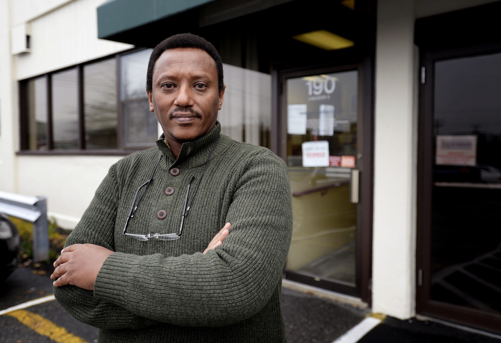 Jean Paul Ruzibiza, a refugee from Burundi, came to Portland in 2012 and was helped by the city's Refugee Services Program. In recent months, Portland has lost crucial grants funding the program.