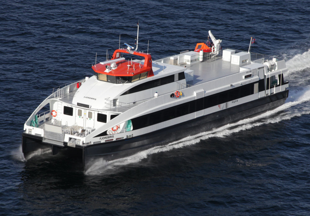 Front Street Shipyard in Belfast expects to add 50 to 100 jobs in a joint venture with a Norwegian firm to build passenger ferries.