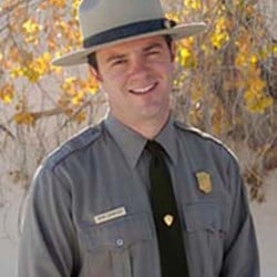 Kevin Schneider in a 2011 National Park Service photo.