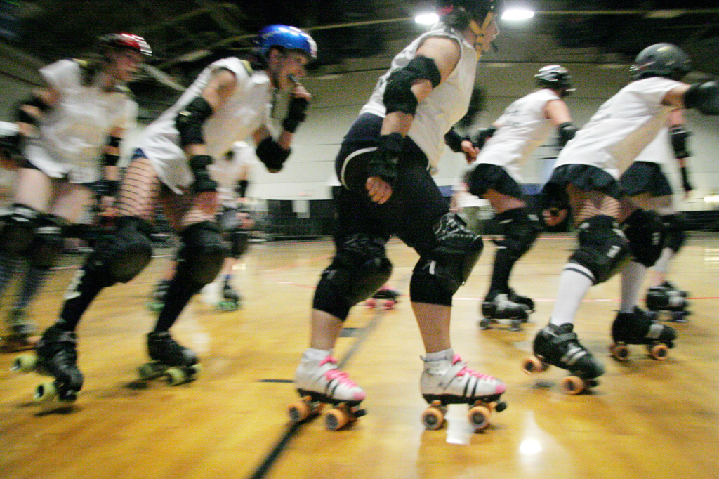 To a group of women in the Maine Roller Derby league, ending the prohibition on contact is a big deal.