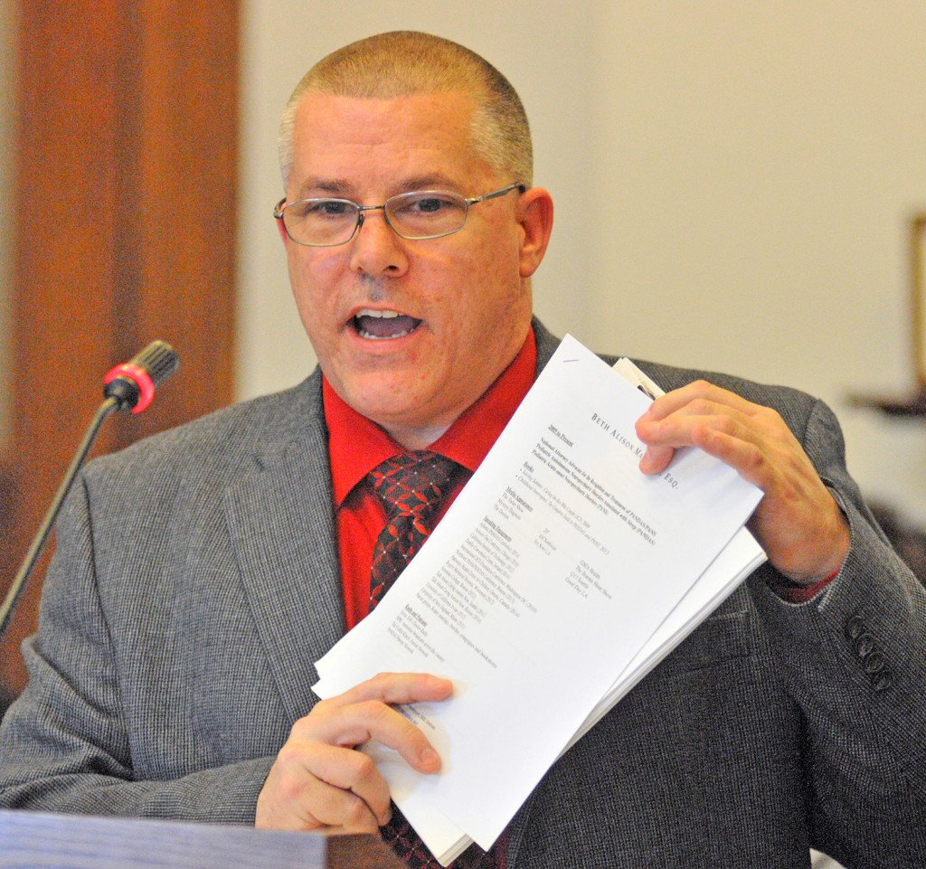 Sen. David Dutremble, D-Biddeford, announced his resignation from the Maine Legislature Wednesday, citing his battle with alcoholism.