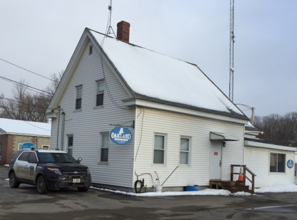 The Oakland police station, shown Friday on Fairfield Street, is due to be replaced. Town officials say it has serious security deficiencies and is unsuitable for police work.