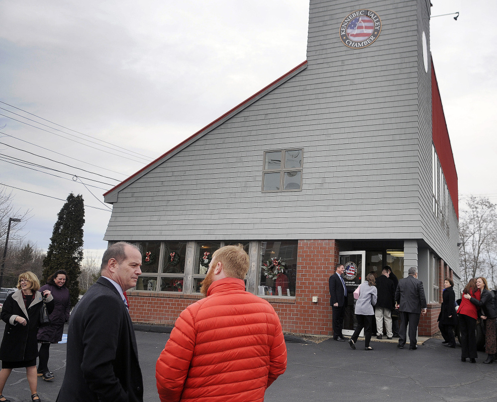 Taking advantage of the new Western Avenue offices of the Kennebec Valley Chamber of Commerce is a priority of chamber President Ross Cunningham in the new year.