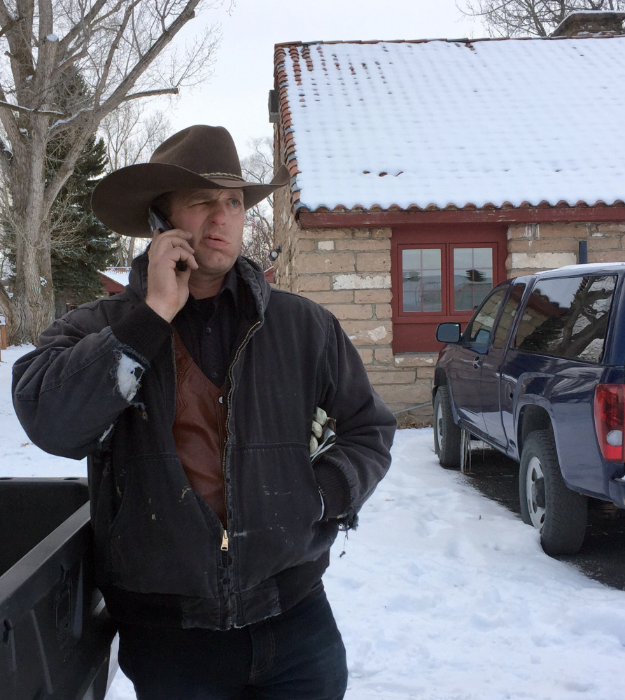 Ryan Bundy is among occupiers of the Malheur National Wildlife Refuge near Burns, Ore., to protest the federal government's treatment of two ranchers. He said the group doesn't want to resort to violence but will not rule it out.