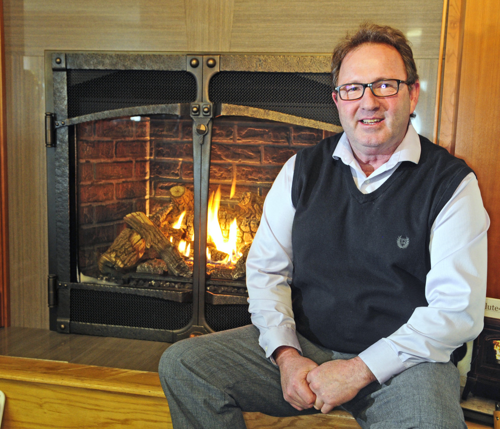 Rocky's Stove Shoppe, owned by Rocky Gaslin, was named Kennebec Valley Chamber of Commerce Small Business of the Year.