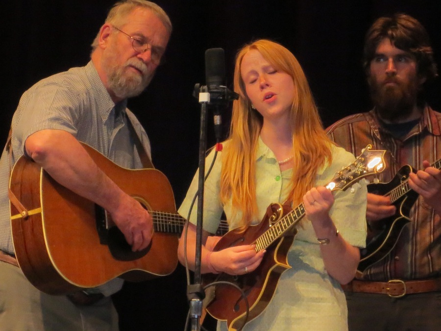 Contributed photo From left, are Stan Keach, Julie Davenport and Dan Simons of the Sandy River Ramblers.