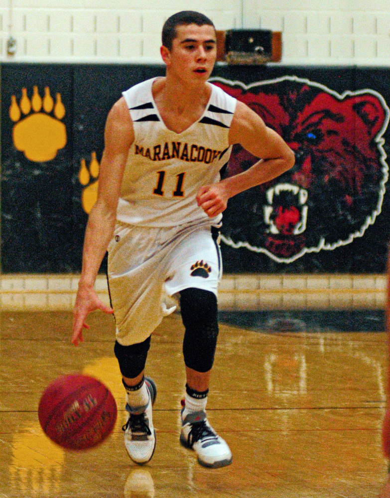 Maranacook's Kyle Wilbur has helped the Black Bears to an 8-1 start to the season.