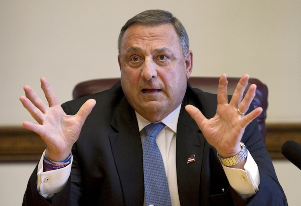 Gov. Paul LePage has never had to pay a political price for comments such as those he made Wednesday.