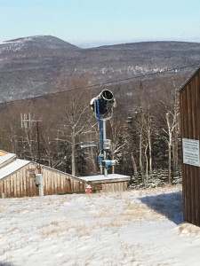 Saddleback Mountain is quiet earlier this month as the ski resort remains closed. The mountain may open later this month as the loose ends of a sale are tied up.