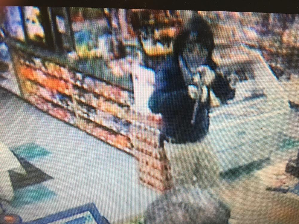 A man wielding a rifle or shotgun robbed a convenience store on Riverside Drive in Augusta Tuesday night.