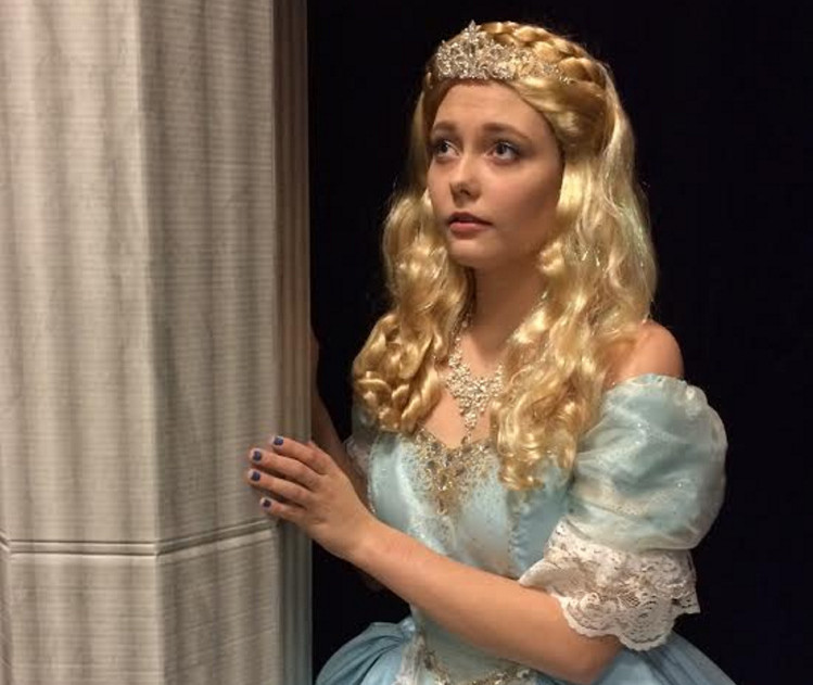 Angelique James as Cinderella.