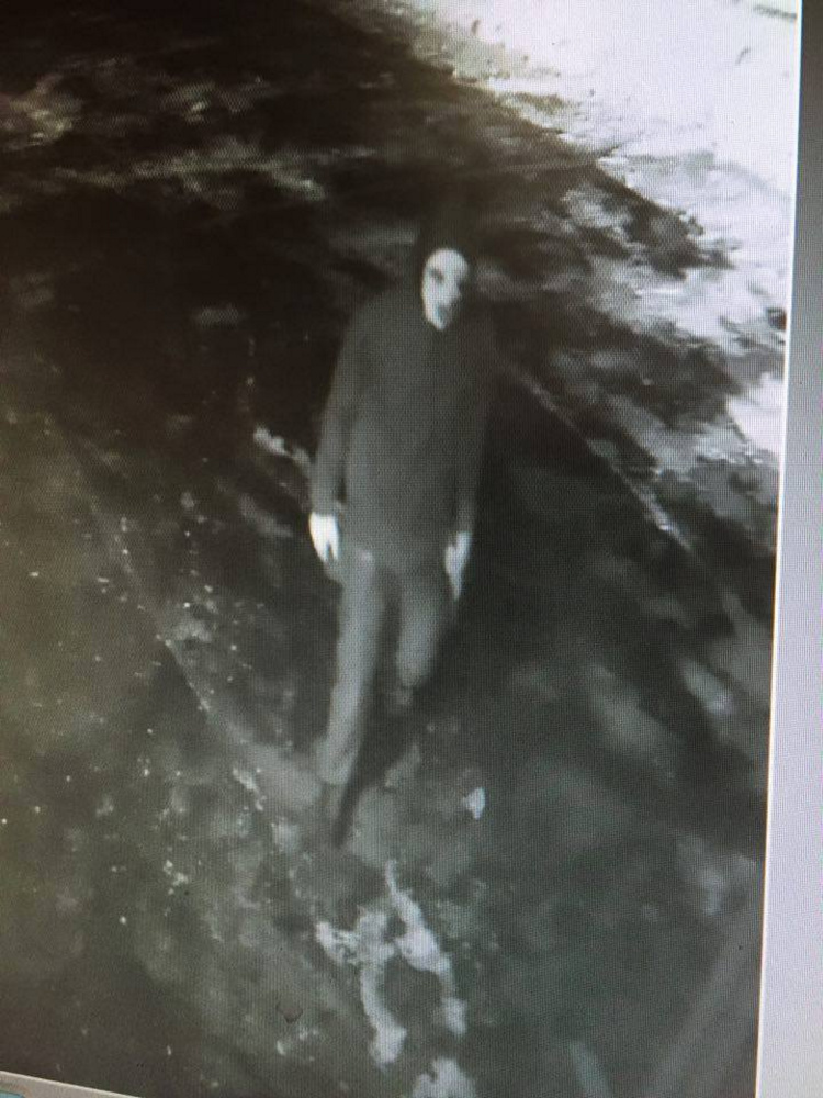 Contributed photo Security camera footage shows a would-be burglar who tried to break into the Corner Store recently in Athens.