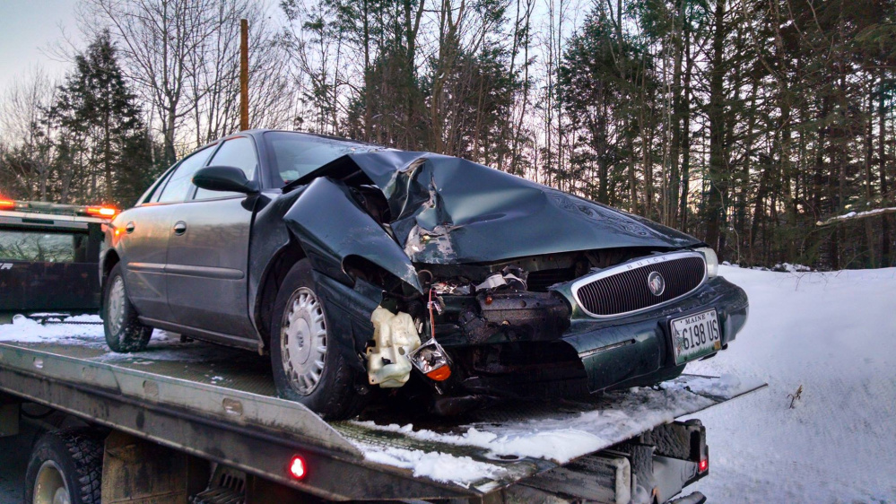 A Tuesday crash on U.S. Route 202 involving a bus carrying students sparked a series of pileups that would eventually involve nearly a dozen vehicles and send at least two people to the hospital.