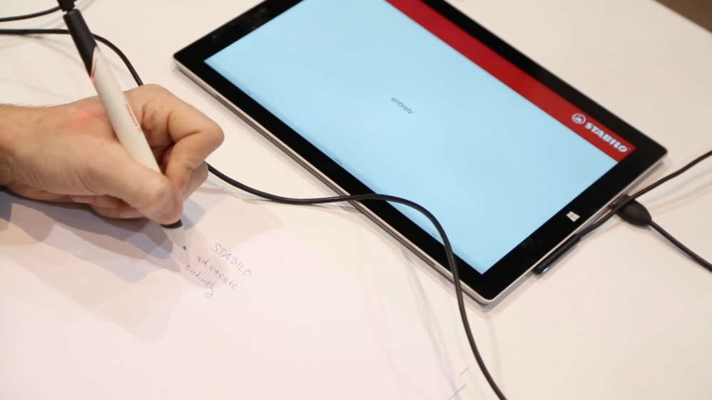 The Stabilo Digipen learns the way you write – on any kind of paper – and converts it into digital text.