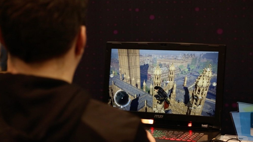 At the Consumer Electronics Show, Tobii and MSI revealed a gaming laptop that fully integrates eye-tracking technology.