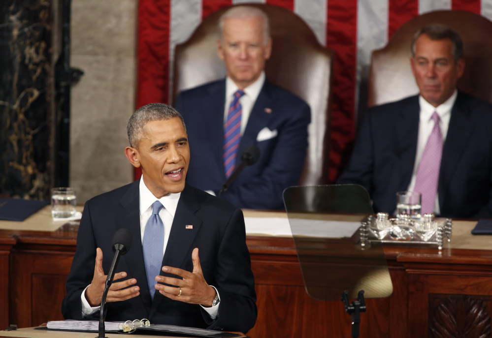 """President Obama delivers his 2015 State of the Union address. This year, he's promising a speech that celebrates America's capacity """"to come together as one American family."""""""