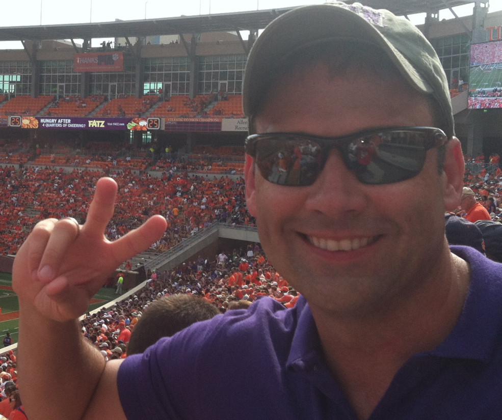 Robert Moody, the Portland Symphony Orchestra's principal conductor, is a Clemson fan.