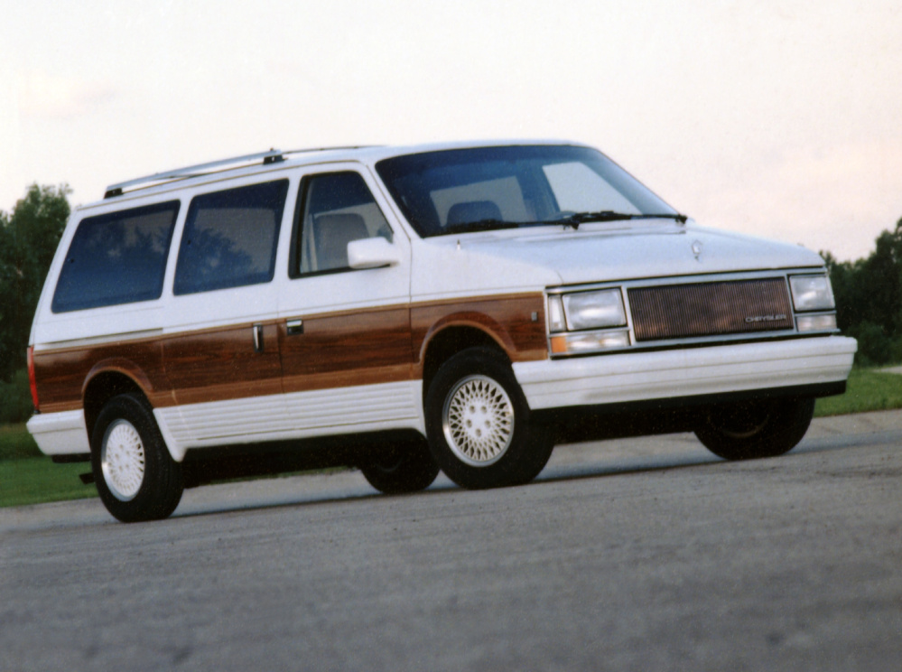 The 1990 Chrysler Town & Country minivan was practical for shuttling around kids, but it was also boxy. When Chrysler introduced the minivan, it took the suburbs by storm.