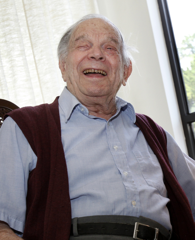 William A. 'Bill' Del Monte was among the youngest San Francisco quake survivors.