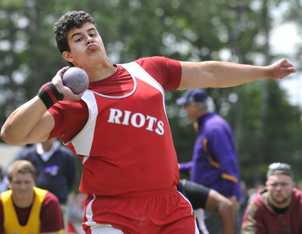 Dan Guiliani, who hurt his right elbow while throwing a shot put last month, will sit out the indoor season and awaits the result of an MRI. He'll compete next year for Iowa State.