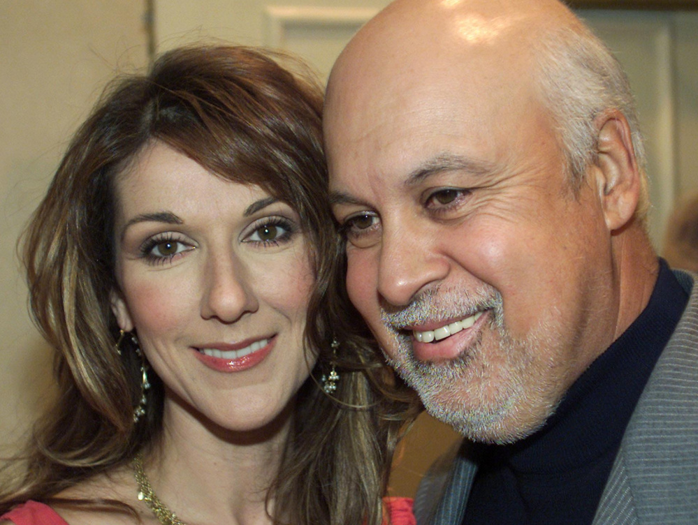 A former singer, Rene Angelil was constantly seen at the side of his famous wife, Canadian-born singing superstar Celine Dion, whom he married in 1994.