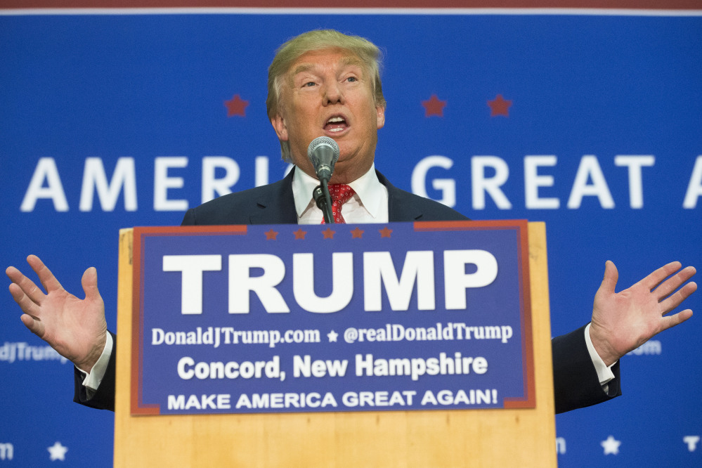 Republican presidential candidate Donald Trump hasn't been barred from Great Britain despite a petition asking Parliament to do so.