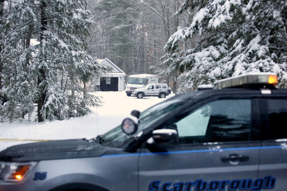 Bruce Glidden was shot while he slept by an intruder at his home on Ash Swamp Road in Scarborough on Monday.