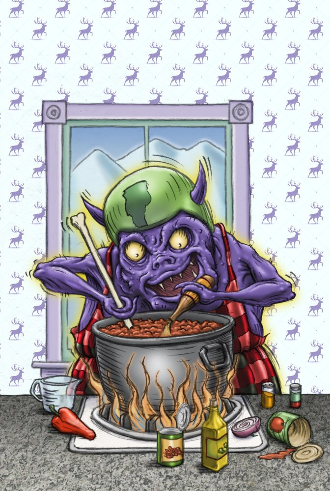 Release the chili monster!