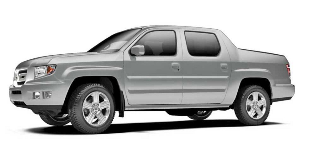 Police say the juvenile arrested this morning in connection with the shooting of Bruce Glidden was driving a gray Honda Ridgeline similar to this one.