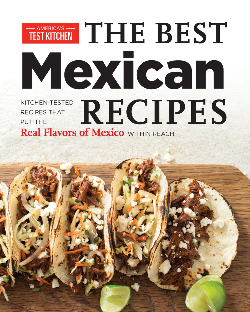 """""""The Best Mexican Recipes: Real Flavors of Mexico within Reach"""" has myriad easy-to-follow recipes and enough variety to spice up your kitchen."""