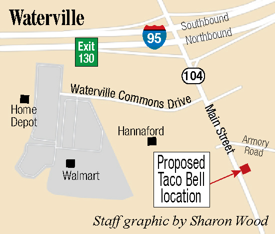 Waterville Council Gives Initial Ok For Zone Change For Taco Bell