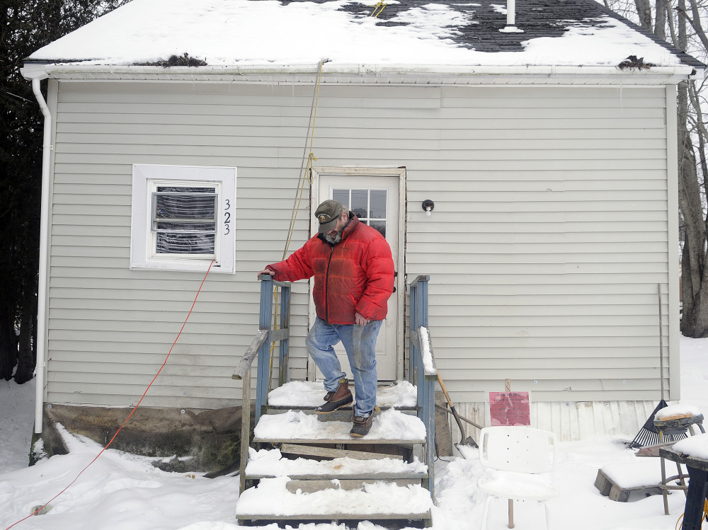 Craig Pollis, who owns the house at 323 Main St. in Readfield, said he plans to make repairs to the building, but a town code enforcement officer deemed it dangerous and unfit for human habitation in November.