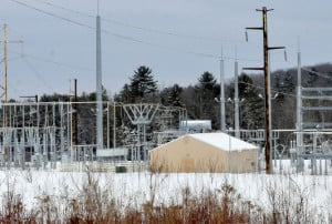 The CMP substation off Albion Road in Benton has been the subject of noise complaints by area residents and is being investigated by the Public Utilities Commission, which is holding a hearing Thursday.