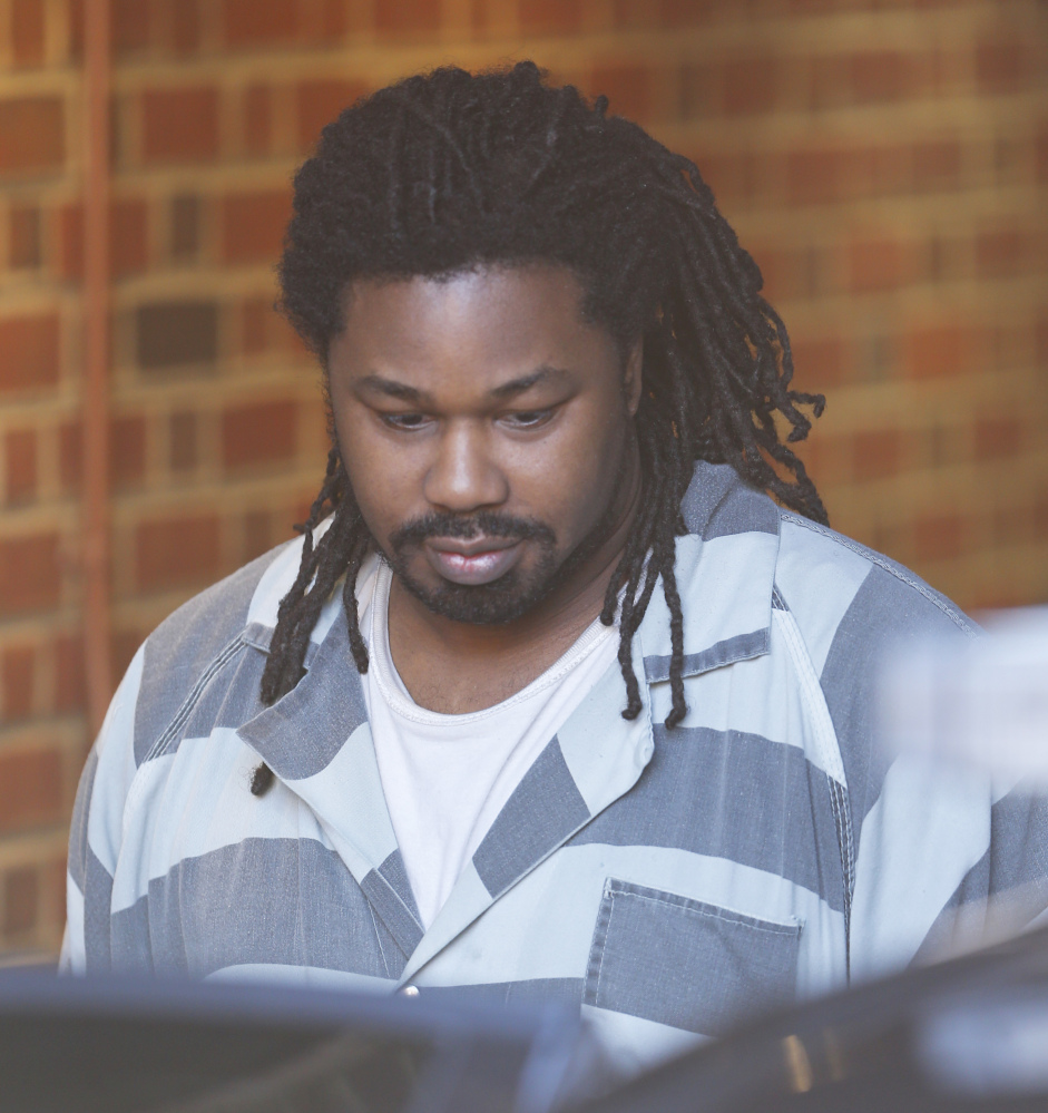 This Monday Dec. 7, 2015 file photo shows Jesse Matthew Jr. as he is led out of the Albemarle Circuit Court building.